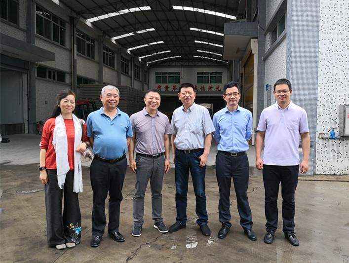 广东食品药品职业学院院领导到访东泰乳业研讨交流